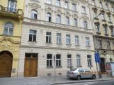 Fasáda do ul. Slezská 42