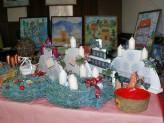 Vánoční výstava v Portyči pomáhá postiženým