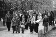 účastníci pochodu